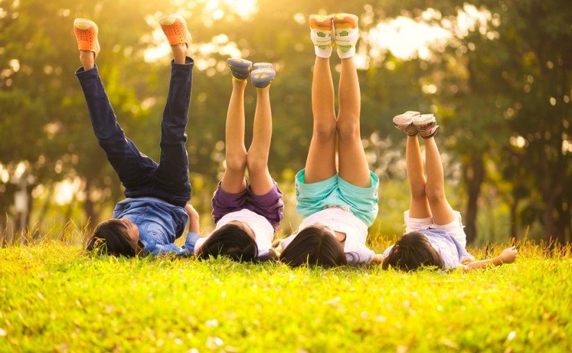 Sjove udendørslege om sommeren